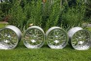 "DT: 17"" x 8"" & 10"" Fikse FM10 Forged wheels for Porsche"