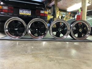 "DT: 16"" x 6/7"" Porsche Fuchs Wheels"