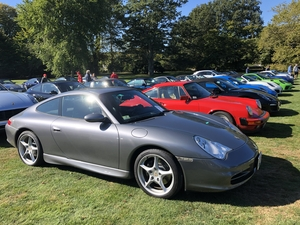 2003 Carrera 6-sp manual, at 2019 PCA NER Concours