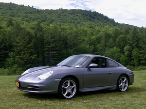 2002 996 Carrera Seal Grey