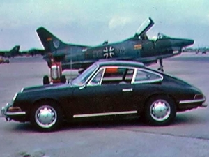65 Porsche 911 at RAF Upper Heyford