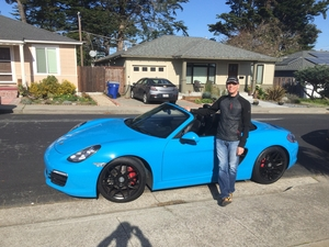 2013 Boxster S, PTS Mexico Blue. Taking delivery!