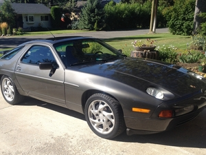 1989 928 S4.  Slate Gray Matallic