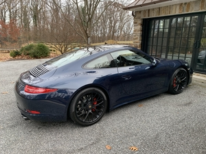 2016 991.1 GTS MANUAL, Dark Blue/Luxor Beige