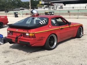 1989-Porsche 944 S2 / My Red beauty track car!