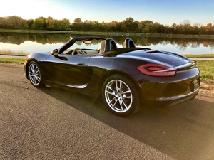 Sweet as Chocolate Candy - 2014 Porsche Boxster -