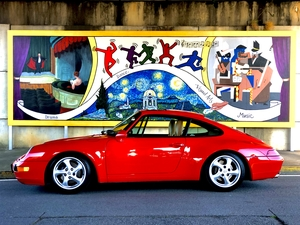 993 C2 Guard Red 6 speed