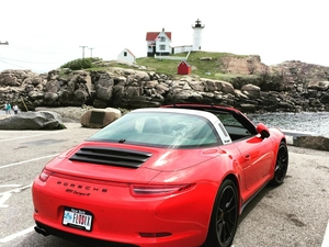 991 Targa, Nubble Light, Maine