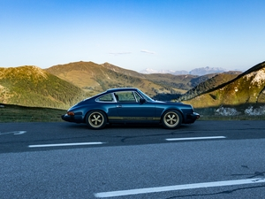 1978 911SC in the Austrian Alps