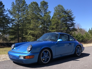 1992 Porsche 964 in very rare Tahoe Blue Metallic
