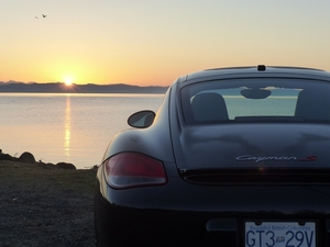 Cayman S at Sunrise