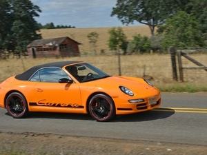 2007 Carrera Cabriolet - Bright Orange Wrap