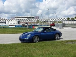 2007 - 911 S  Cab Cobalt Blue @ Daytona  6-laps.