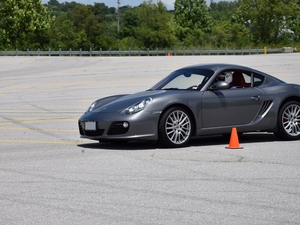 Autocross time (2012 Cayman S)