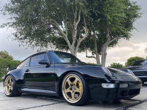 96 993 turbo. Lowered on hre wheels