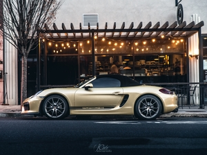 2013 Boxster lime gold metallic