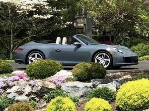 Spring!  2017 911 Cabriolet Graphite Blue Metallic