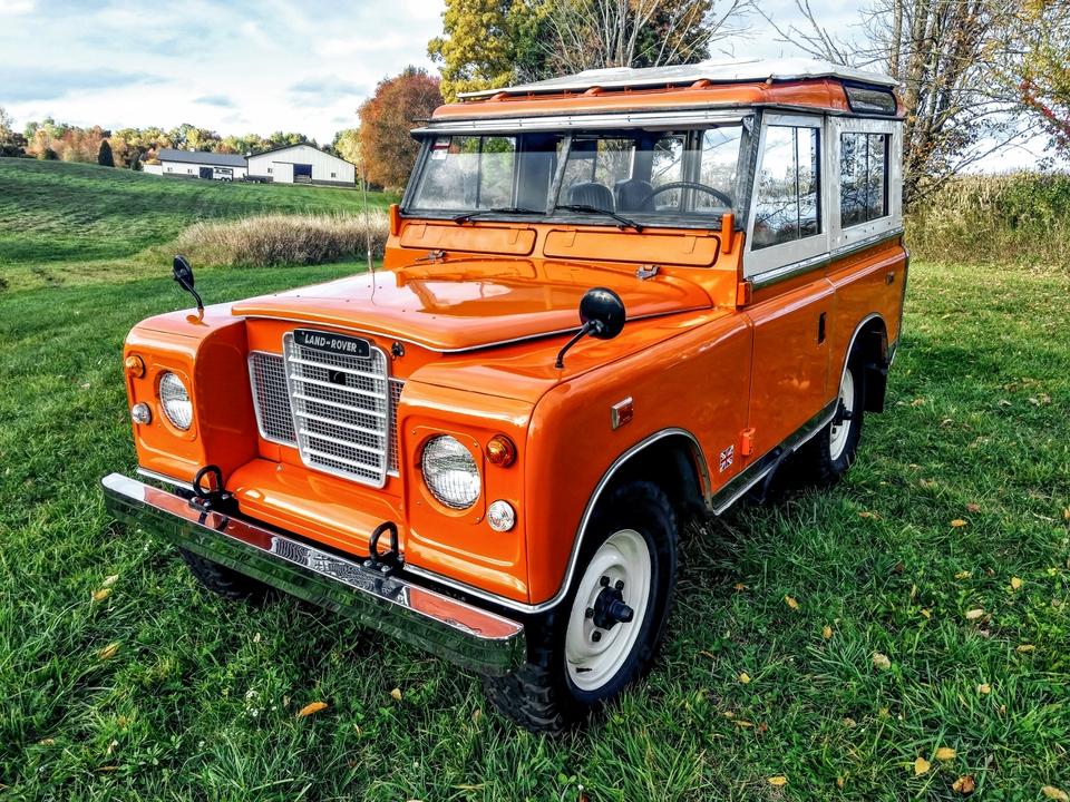 DT: 1973 Land Rover 88 Series III Diesel