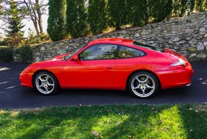 21K-Mile 2002 Porsche 996 Carrera 6-Speed
