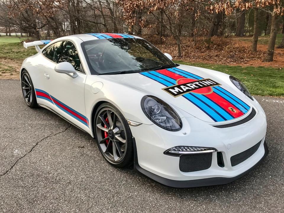 DT: 13K-Mile 2015 Porsche 991 GT3
