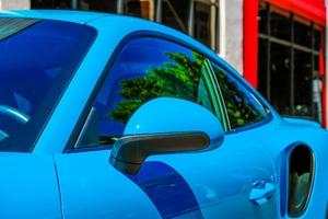 DT: 2017 Porsche 991 Turbo Coupe Miami Blue