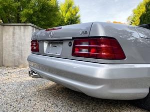 1/1 2002 Mercedes-Benz SL600 Silver Arrow Brabus 7.3 L
