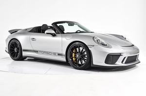 DT: 46-Mile 2019 Porsche 991.2 Speedster