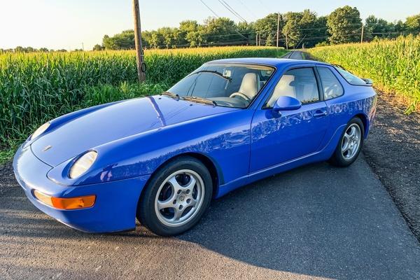 1992 Porsche 968 Maritime Blue