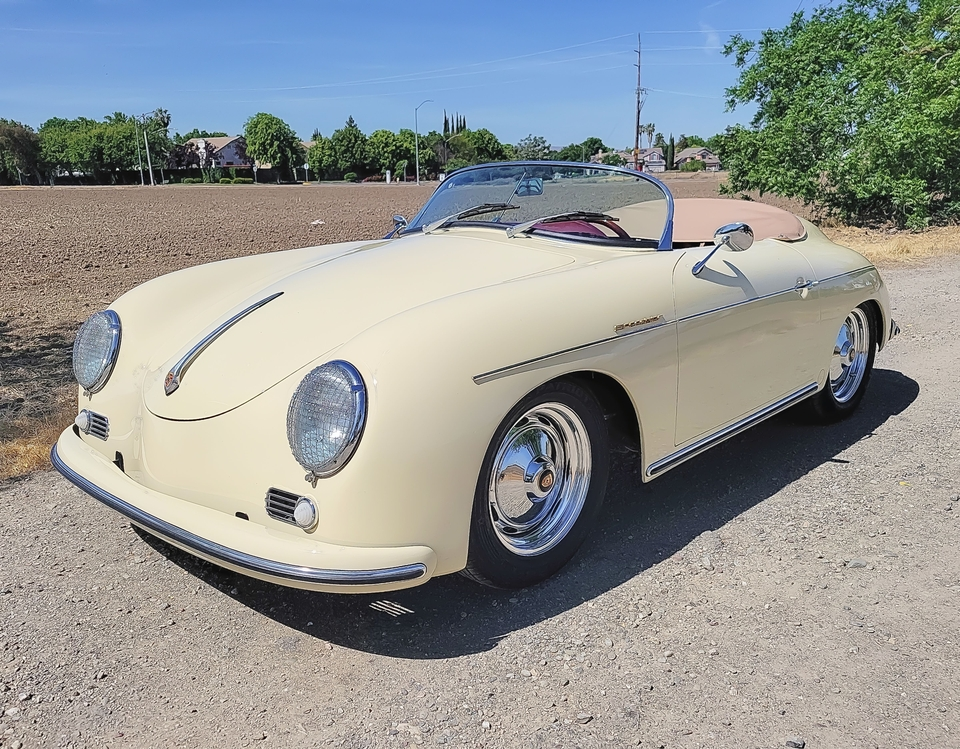 DT: 1957 Porsche 356 Speedster Replica by Vintage Speedsters