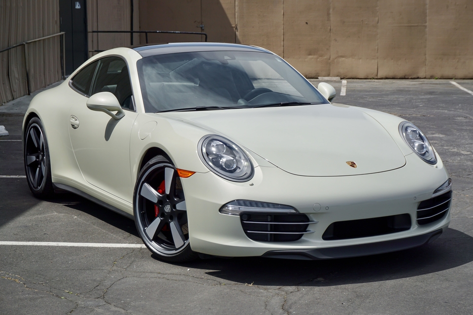 978-Mile 2014 Porsche 911 50th Anniversary Edition 7-Speed Manual