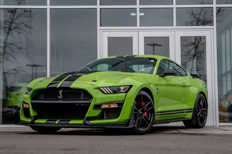 6k-Mile 2020 Ford Mustang GT500