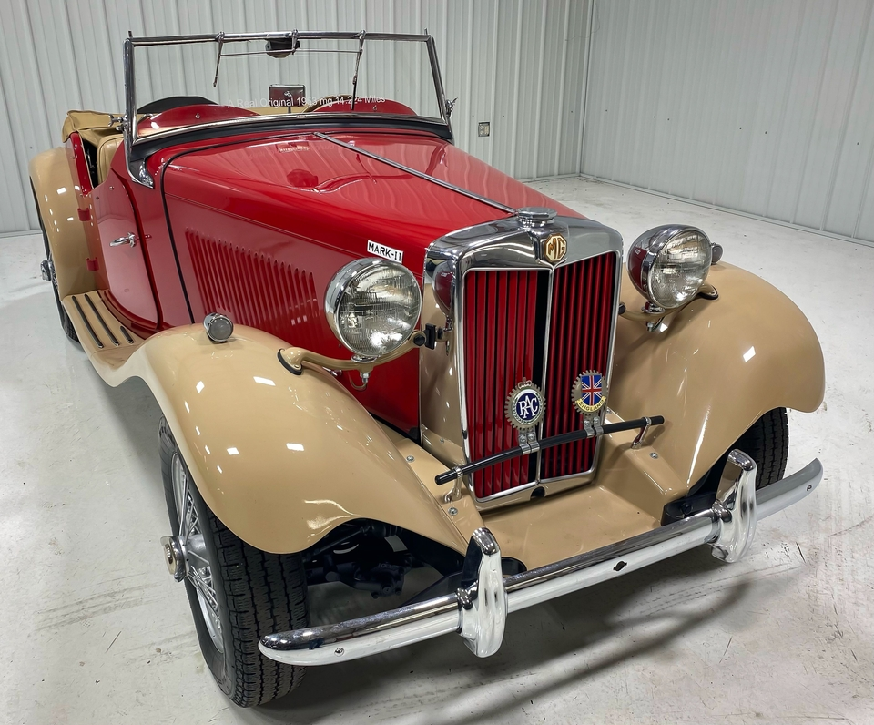 DT: 1953 MG TD MkII