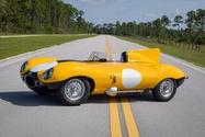 1956 Jaguar D-Type Short Nose Alloy Re-Creation by Tempero