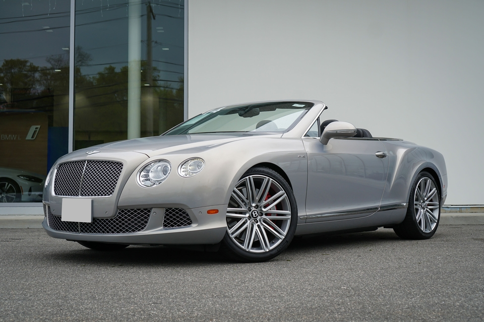 DT: 19k-Mile 2014 Bentley Continental GTC Speed