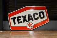 "Vintage Texaco Double-Sided Fiberglass Sign (86"" x 53 1/2"")"