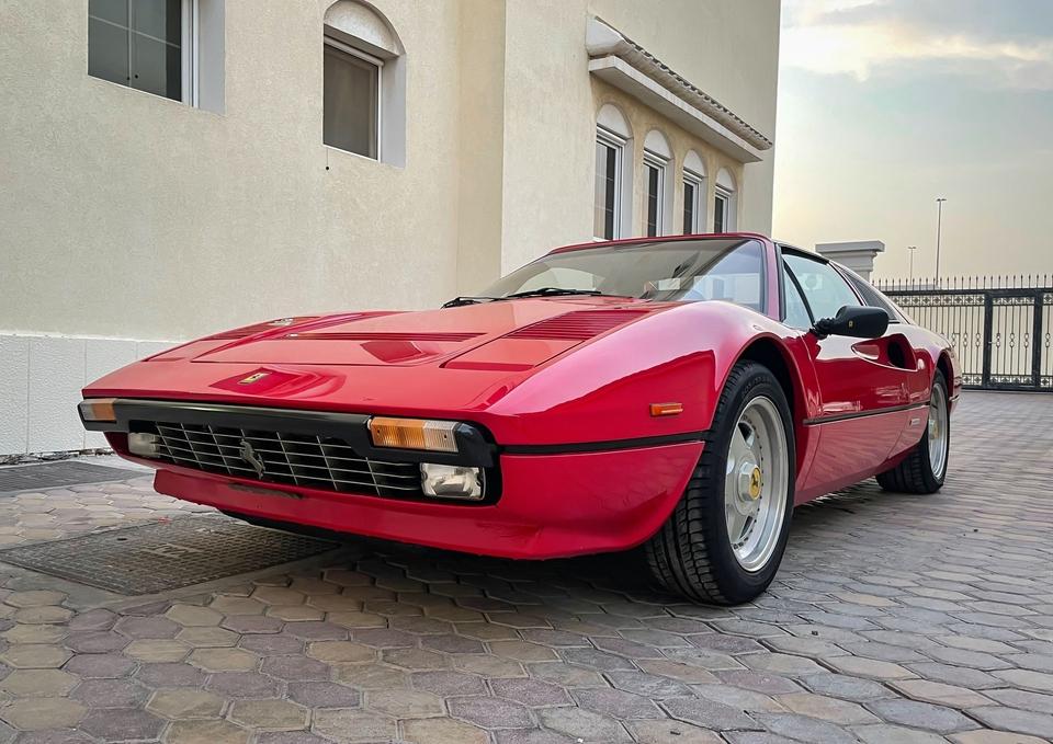 1985 Ferrari 308 GTS Quattrovalvole Euro