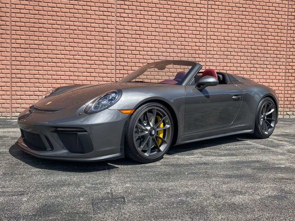 DT: 600-Mile 2019 Porsche 991 Speedster w/ Custom Tailoring