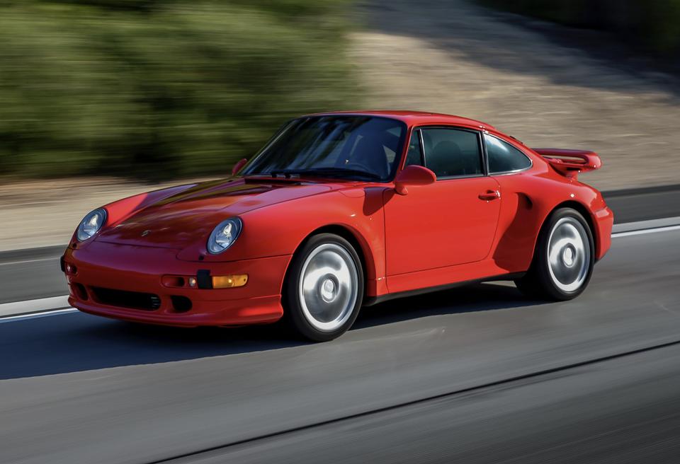 DT: 12k-Mile 1997 Porsche 993 Turbo S