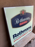"Porsche Rothmans Racing Illuminated Sign (35"" x 35"")"