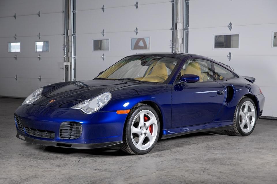 DT: 36k-Mile 2002 Porsche 996 Turbo 6-Speed