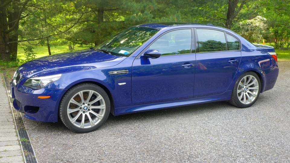5k-Mile One-Owner 2008 BMW E60 M5 6-Speed