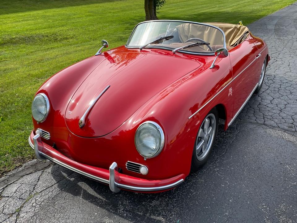 DT: 1958 Porsche 356A Speedster Replica by CMC