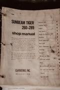 DT: 1966 Sunbeam Tiger Mk 1A