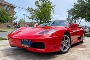 DT: 25k-Mile 2004 Ferrari 360 Spider F1