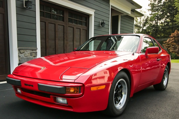 26K-Mile 1983 Porsche 944 Coupe 5-Speed