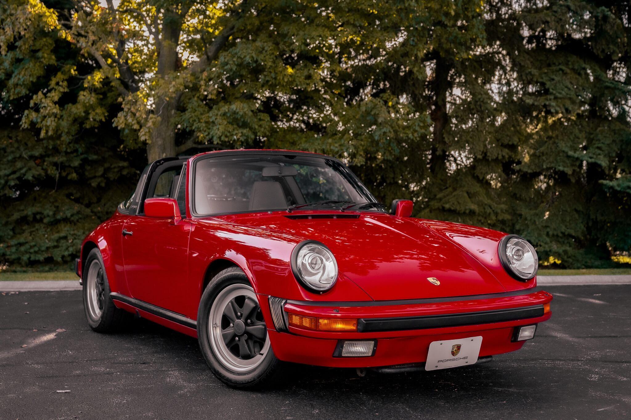 DT: 1985 Porsche 911 Carrera Targa 5-Speed