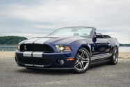 17k-Mile 2011 Ford Mustang Shelby GT500 Convertible 6-Speed