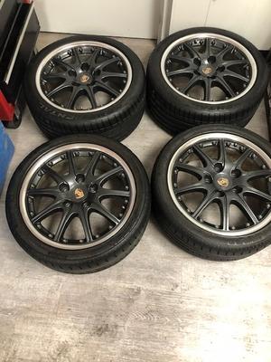 "18"" Porsche BBS Sport Design Wheels"