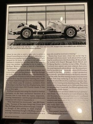 """No-Reserve"" 1956 Porsche 356A Hoffman Motors Training Chassis"