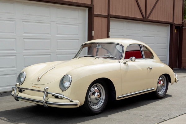 1958 Porsche 356A Super Sunroof Coupe